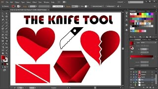 Download How to Cut a Shape in Adobe Illustrator - the Knife Tool Mp3 and Videos