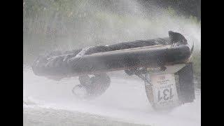 Hovercraft Crash [FLIPPED ON WATER]