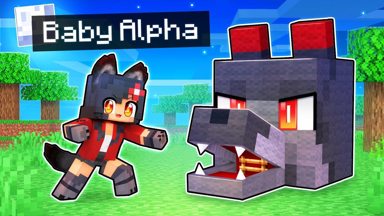 Download My BABY Alpha's TOP SECRET Minecraft Base!
