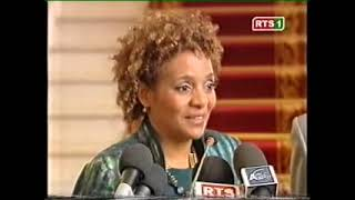 Archindiayepai: N° 88 Rappel Abdoulaye Wade reçoit Michaëlle Jean