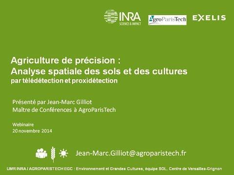 Agriculture de précision : Analyse spatiale des sols par télédétection