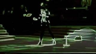 Moonwalk - Michael Jackson - KING OF NEON