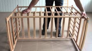 Детская кроватка Наталка инструкция по сборке(Удобная и безопасная, лакированная кроватка