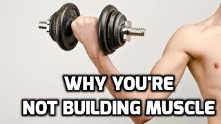 WORST 3 MUSCLE BUILDING MISTAKES!
