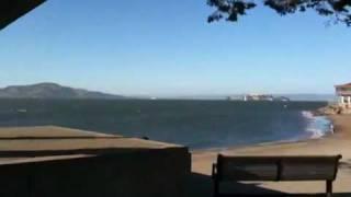 サンフランシスコ/ ゴールデンゲートブリッジ、アルカトラス島.