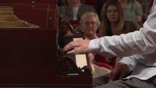 Tomasz Ritter – J.S. Bach, Prelude and Fugue in E flat minor, BWV 853 (First stage)