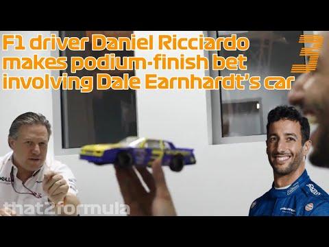 Ricciardo earns drive in Earnhardt's car, thinks of Senna