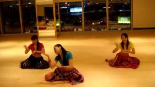 Bollywood Dance Practise----Dola Re Dola @ Cwb Myoga