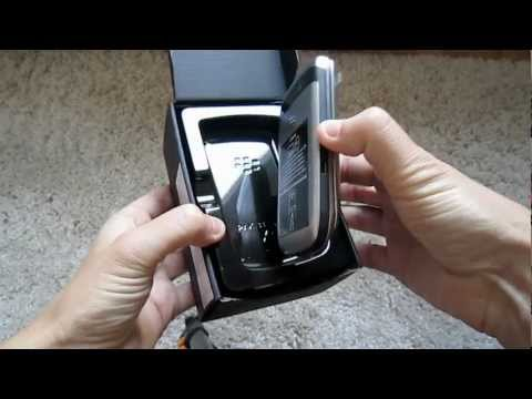 Unboxing BlackBerry Torch 9810