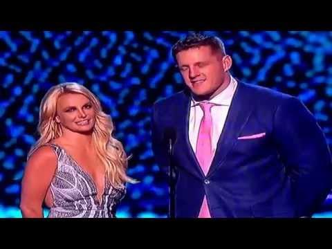 Britney Spears on ESPYs 2015