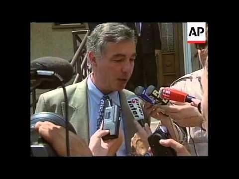 MACEDONIA: ETHNIC ALBANIAN LEADER RUGOVA VISIT