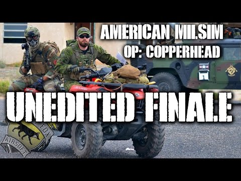 American Milsim Operation Copperhead Part 11: Unedited Finale (KRYTAC CRB)
