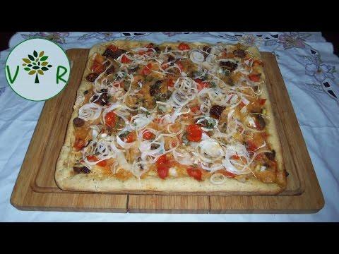 pizza-aux-oignons-et-tomates-cerises-confites- -riche-en-antioxydants
