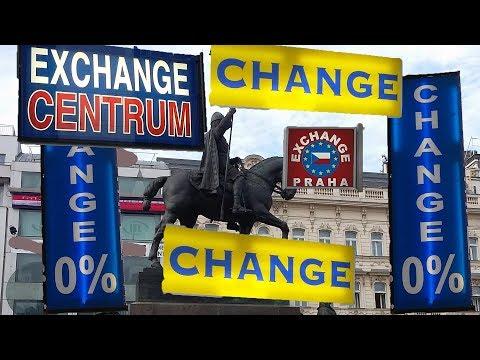 Чехия, Прага. Где лучше всего обменять валюту