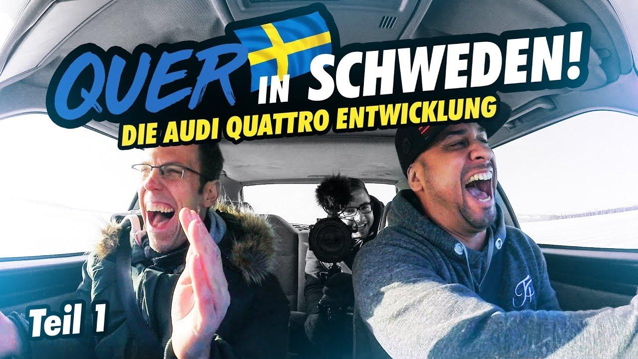 JP Performance - Quer in Schweden!   Die Audi quattro Entwicklung   Teil 1