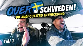 JP Performance - Drift in Sweden! | The Audi quattro development | Part 1