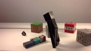 Minecraft Action Figure Stop Motion Animation | The Enderman