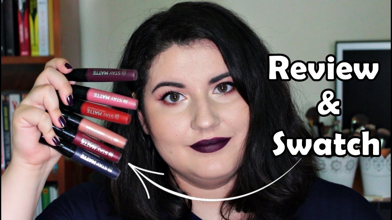 Swatchreview Rujuri Lichide Stay Matte Rimmel Anca Laura Youtube
