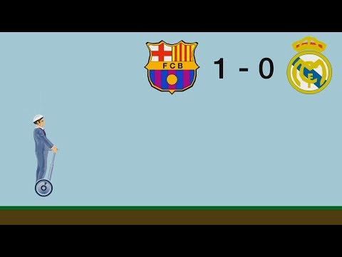 BARCELONA vs REAL MADRID 2018