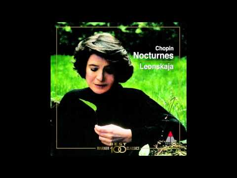 Elisabeth Leonskaja - Chopin Nocturnes, op. 9 ~ No. 2 in E flat major; Andante