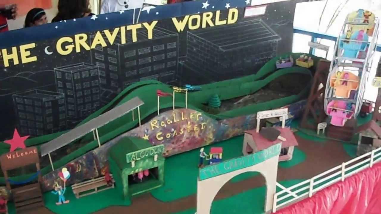 Parque de diversiones proyecto escolar youtube for Proyecto para una cantina escolar