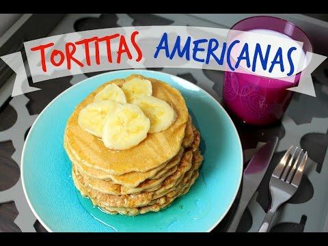 Cómo hacer TORTITAS AMERICANAS | Siilvia123Bella