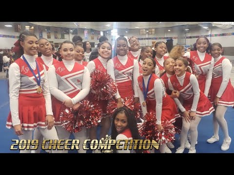 MADISON PARK HIGH SCHOOL CHEER COMPETITION!! (MEET MY 60 YEAR OLD GRANDMOTHER)??????????