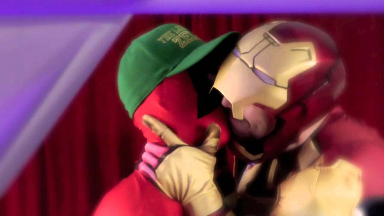 superhero video Gay cartoon