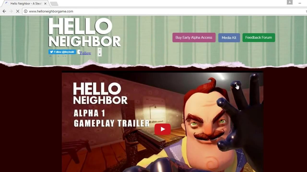 Hello Neighbor Demo Play