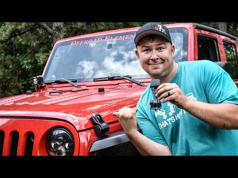 JL Hood Latches on a JK Wrangler - Install and Review