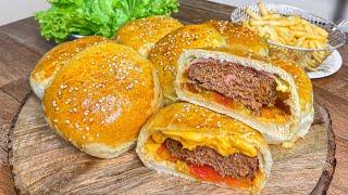 Hambúrguer De Forno Rápido E Fácil