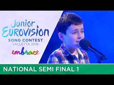 JESC 2016: Ireland - National Selection - Semi Final 1