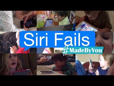 Siri Fails #MadeByYou