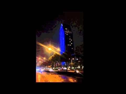 Night view of Best Plaza Yinzhou District Ningbo
