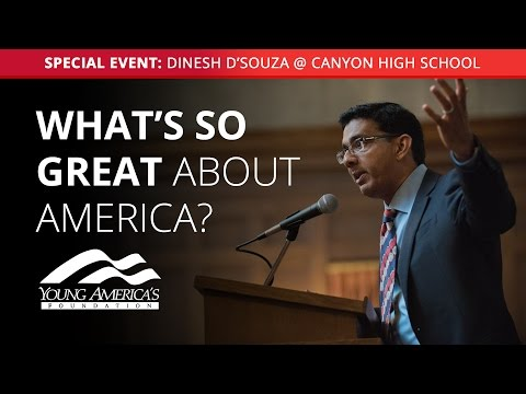 Dinesh D'Souza at Canyon High School