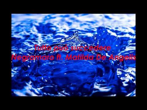 Tutto può succedere Negramaro ft. Matilda De Angelis (Testo) 4K