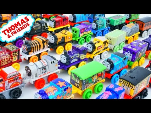 THOMAS FRIENDS MINIS HUGE COLLECTION NEW TRAIN CHARACTERS 2017 TANK ENGINES SPACE MONSTER