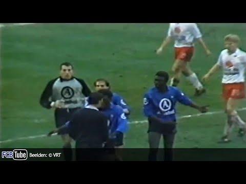 1988-1989 - Beker Van België - 04. 8ste Finale - KV Kortrijk - Club Brugge 2-1