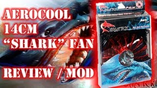 """AeroCool """"Shark"""" 14cm Fans - Review, Unboxing, Fitting & Testing"""