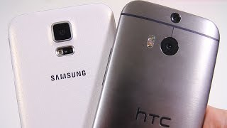 Samsung Galaxy S5 vs All New HTC One (M8) - Full Comparison