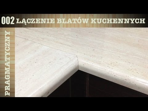 002 Laczenie Blatow Kuchennych Bez Szablonu Youtube