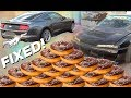 DONUTS!   Fixing and testing the 2015 Mustang Drift car - Can a turbo 4cyl hang?   