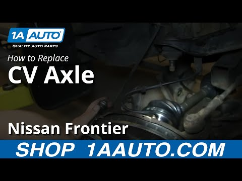 How To Replace CV Axle Shaft 1998-2004 Nissan Frontier