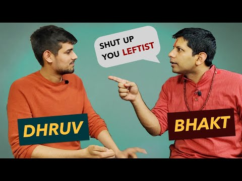 Andh Bhakt Banerjee Debates with Dhruv Rathee | Logical Fallacies Explained!