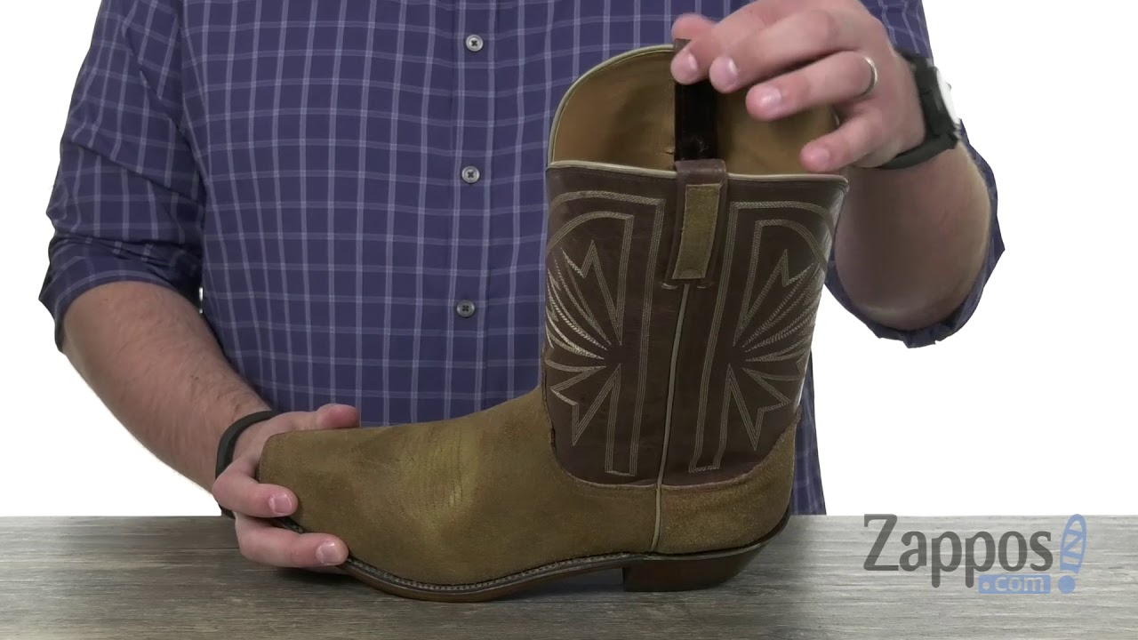 c735860d8b0 Lucchese Hobbs Square Toe SKU: 9203901