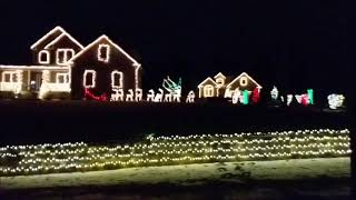 2018 Christmas Light Show - Hit the Ground Running (Gordon Goodwin's Big Phat Band)