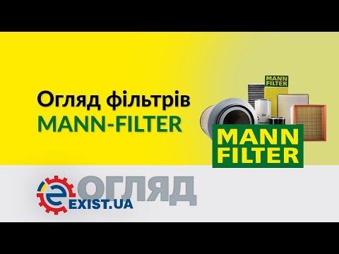Огляд фільтрів Mann-Filter: Паливні, масляні, повітряні.