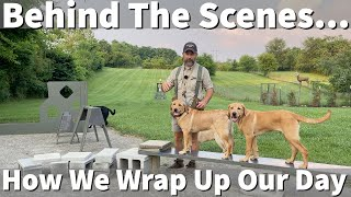 Behind The Scenes   How Uncle Stonnie Wraps Up His Dog Training Day