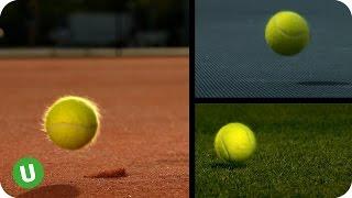 Unibet #LuckIsNoCoincidence - Tennis Surfaces Explained
