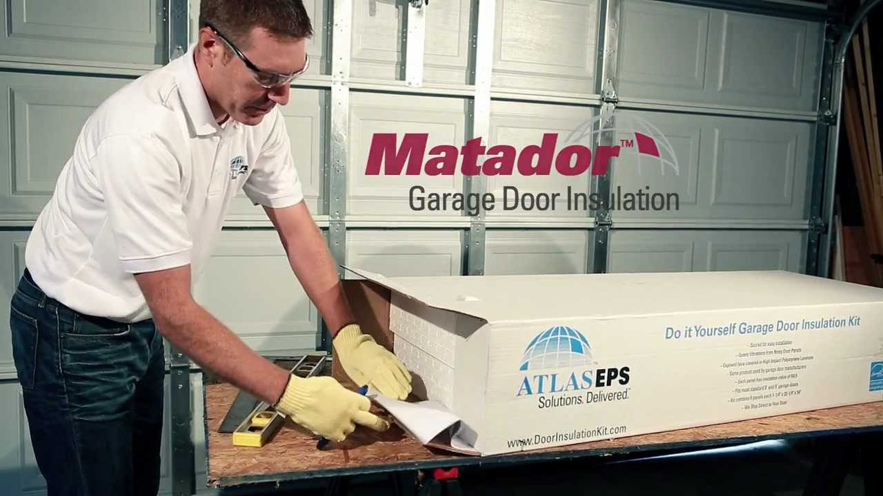 Matador Garage Door Insulation Kit Youtube